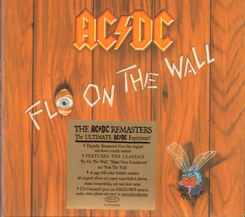 AC/DC Fly On The Wall CD album (CDLP) UK ACDCDFL652175