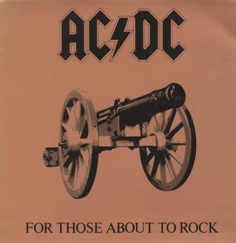 AC/DC For Those About To Rock vinyl LP album (LP record) Colombian ACDLPFO358778