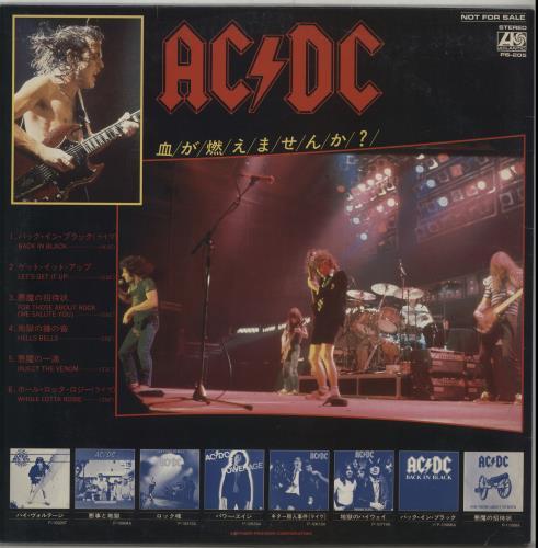 AC/DC Foreigner Vs AC/DC - Special D.J. Copy vinyl LP album (LP record) Japanese ACDLPFO119054