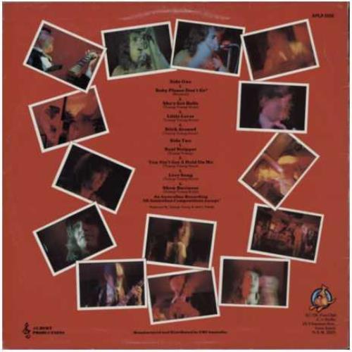 Ac Dc High Voltage 1st Roo Label Australian Vinyl Lp