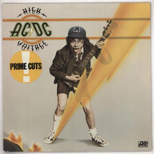 AC/DC High Voltage - Non Barcoded vinyl LP album (LP record) German ACDLPHI580622