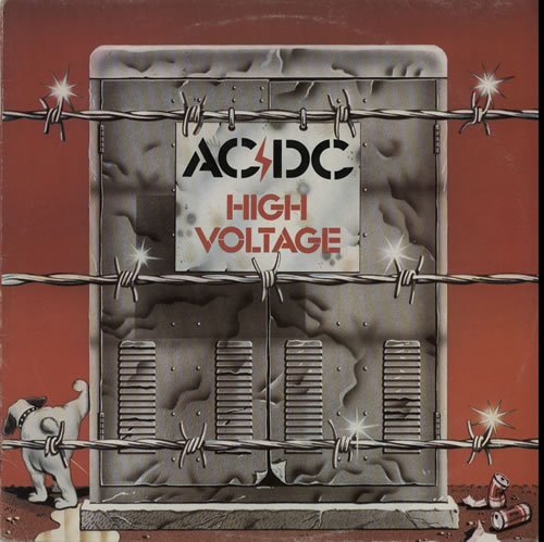 AC/DC High Voltage vinyl LP album (LP record) New Zealand ACDLPHI584122