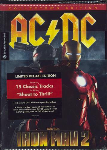 AC/DC Iron Man 2 - Sealed 2-disc CD/DVD set UK ACD2DIR501429