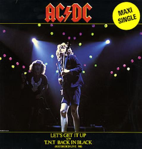 "AC/DC Let's Get It Up 12"" vinyl single (12 inch record / Maxi-single) Dutch ACD12LE264584"