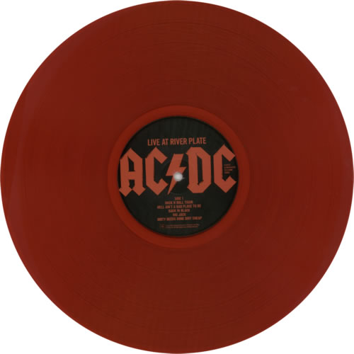 Ac Dc Live At River Plate Red Vinyl Uk 3 Lp Vinyl Record