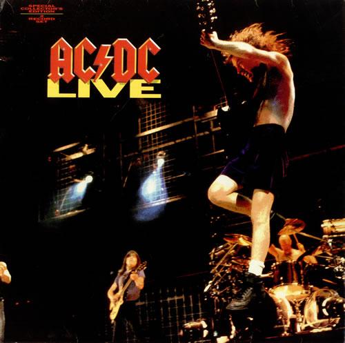 AC/DC Live 2-LP vinyl record set (Double Album) UK ACD2LLI35386