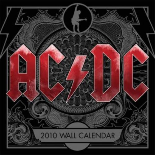 AC/DC Official Calendar 2010 calendar UK ACDCAOF478366