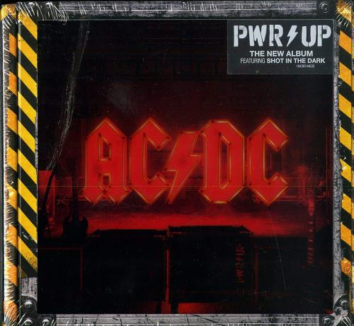 AC/DC Power Up - Light Box CD Album Box Set UK ACDDXPO756356