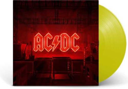 AC/DC Power Up - Yellow Vinyl - Sealed vinyl LP album (LP record) UK ACDLPPO756351