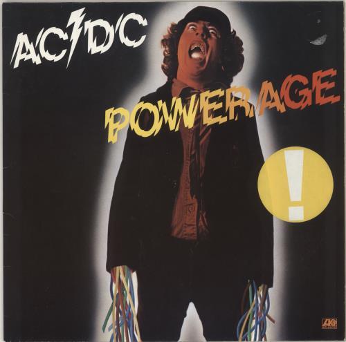 AC/DC Powerage - Barcoded sleeve vinyl LP album (LP record) German ACDLPPO725508