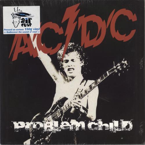 AC/DC Problem Child - Live - SEALED 2-LP vinyl record set (Double Album) UK ACD2LPR772554