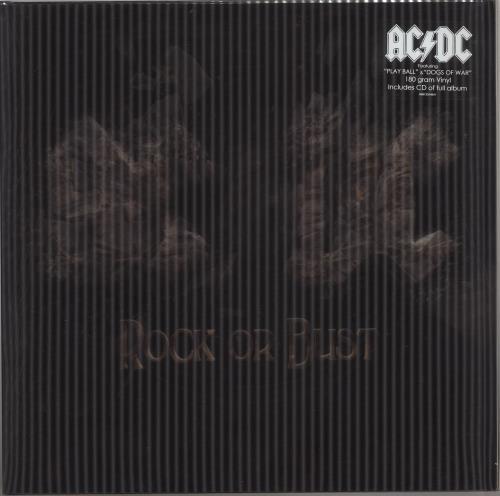 AC/DC Rock Or Bust - 180Gram - Lenticular - Sealed vinyl LP album (LP record) UK ACDLPRO616006