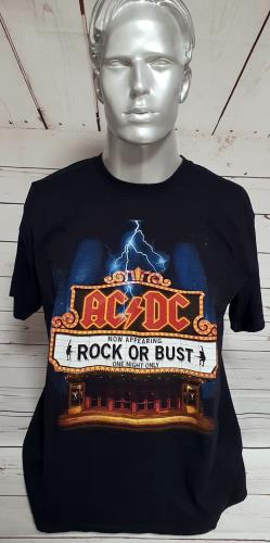 AC/DC Rock Or Bust - One Night Only - T-Shirt - Large t-shirt US ACDTSRO751662