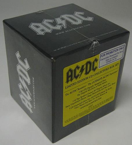 Ac Dc The Collector S Box Us Vinyl Box Set 360042