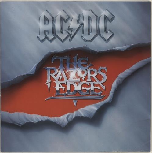 AC/DC The Razors Edge - EX vinyl LP album (LP record) UK ACDLPTH574639