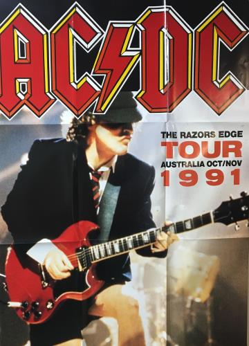 AC/DC The Razors Edge - no booklet box set Australian ACDBXTH294945