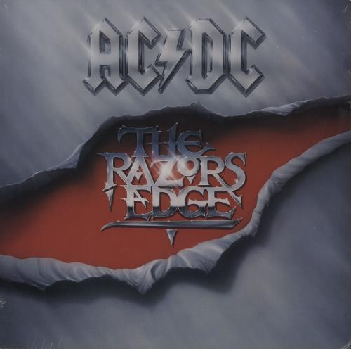 AC/DC The Razors Edge - Record Club - Sealed vinyl LP album (LP record) US ACDLPTH722681