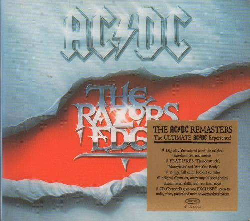 AC/DC The Razor's Edge CD album (CDLP) UK ACDCDTH241873