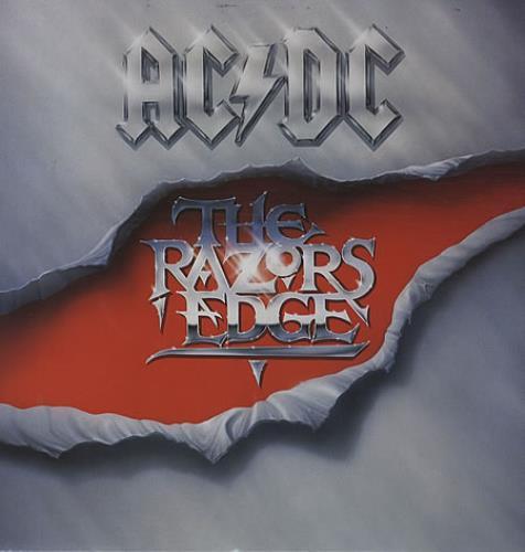 AC/DC The Razors Edge vinyl LP album (LP record) UK ACDLPTH345523