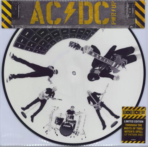 """AC/DC Through The Mists Of Time/Witch's Spell - RSD 2021 12"""" vinyl picture disc 12inch picture disc record UK ACD2PTH770370"""