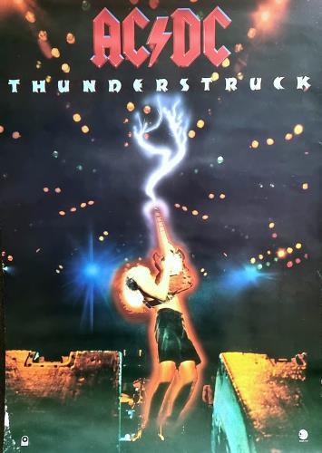 AC/DC Thunderstuck poster UK ACDPOTH80379