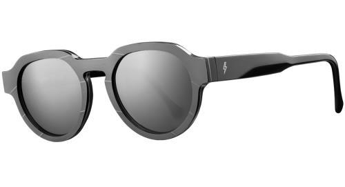 AC/DC Vinylize Back In Black Glasses - Bone