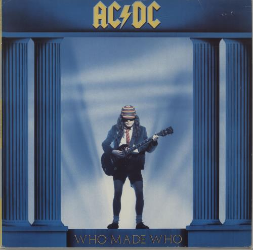 AC/DC Who Made Who - EX vinyl LP album (LP record) UK ACDLPWH671241