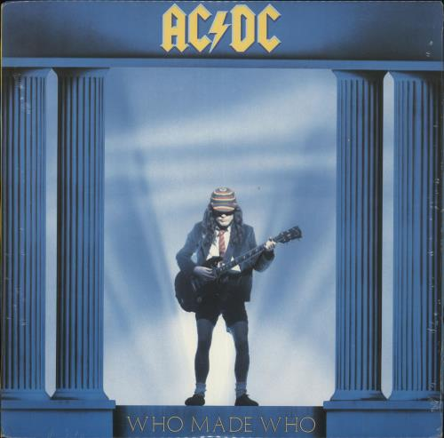AC/DC Who Made Who - Sealed vinyl LP album (LP record) US ACDLPWH715766