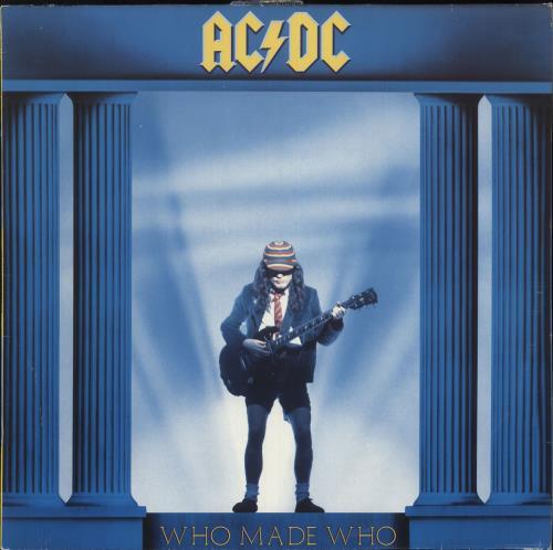 AC/DC Who Made Who vinyl LP album (LP record) German ACDLPWH715352