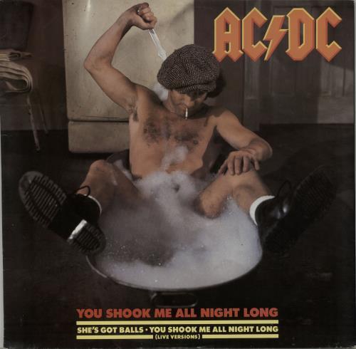 "AC/DC You Shook Me All Night Long 12"" vinyl single (12 inch record / Maxi-single) UK ACD12YO28967"