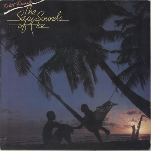 Ace Cannon Saxy Sounds Of Ace Cannon vinyl LP album (LP record) Barbados AQ9LPSA712979