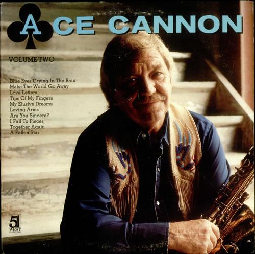Ace Cannon Volume Two vinyl LP album (LP record) US AQ9LPVO534859