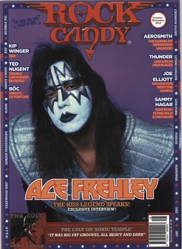 Ace Frehley Rock Candy - October-November 2019 magazine UK ACEMARO736728