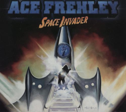 Ace Frehley Space Invader CD album (CDLP) German ACECDSP759988