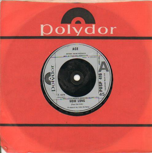 "Ace How Long 7"" vinyl single (7 inch record) UK A.E07HO654197"