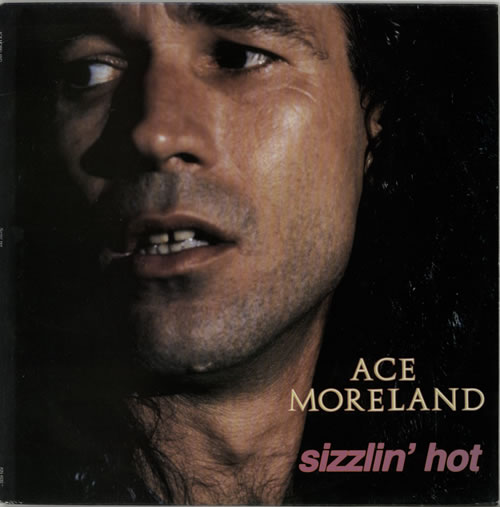 Ace Moreland Sizzlin' Hot vinyl LP album (LP record) US AF0LPSI618877