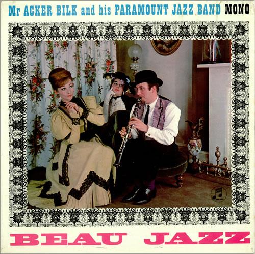 Acker Bilk Beau Jazz vinyl LP album (LP record) UK AKBLPBE456014