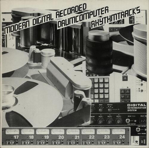 Adams & Fleisner Modern Digital Recorded Drumcomputer Rhythm Tracks vinyl LP album (LP record) Dutch G4FLPMO627065