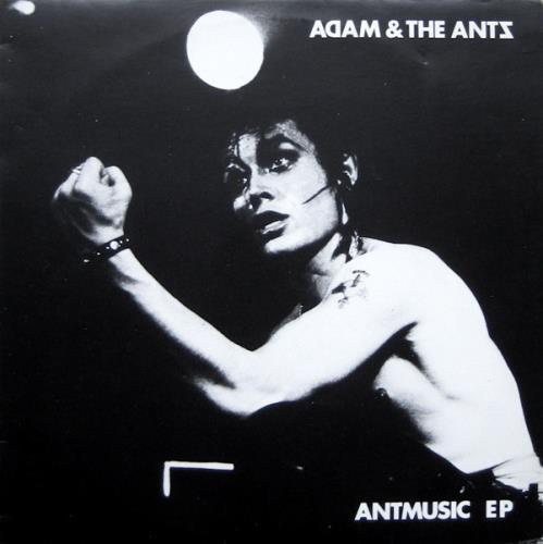 "Adam & The Ants Antmusic EP 12"" vinyl single (12 inch record / Maxi-single) UK ANT12AN34647"