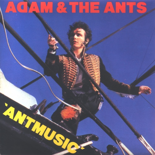 "Adam & The Ants Antmusic 7"" vinyl single (7 inch record) UK ANT07AN102502"