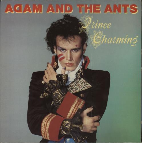 Adam Amp The Ants Prince Charming Uk Vinyl Lp Album Lp