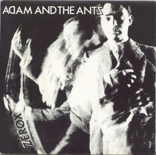 """Adam & The Ants Zerox - 1981 Reissue 7"""" vinyl single (7 inch record) UK ANT07ZE768948"""