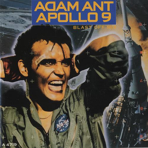"Adam Ant Apollo 9 7"" vinyl single (7 inch record) UK A~A07AP156363"