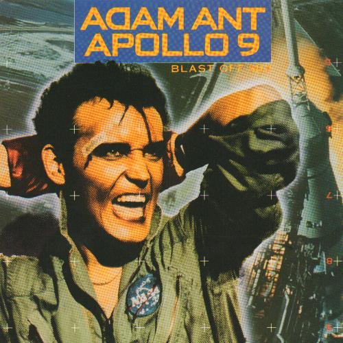 "Adam Ant Apollo 9 7"" vinyl single (7 inch record) Dutch A~A07AP657273"