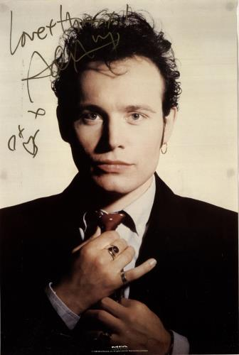 Adam Ant Autographed Poster poster UK A~APOAU537790