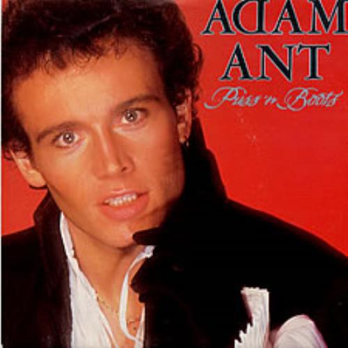 "Adam Ant Puss 'n Boots 7"" vinyl single (7 inch record) UK A~A07PU127343"