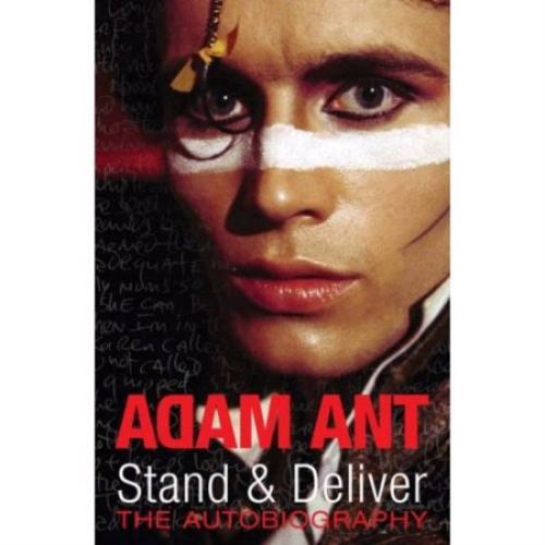 Adam Ant Stand & Deliver: The Autobiography book UK A~ABKST403320