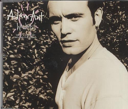 "Adam Ant Wonderful - CD2 CD single (CD5 / 5"") UK A~AC5WO101537"