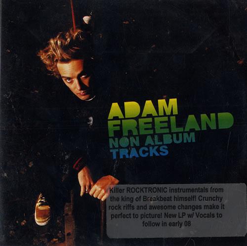 Adam Freeland Non Album Tracks CD album (CDLP) US AF1CDNO473007