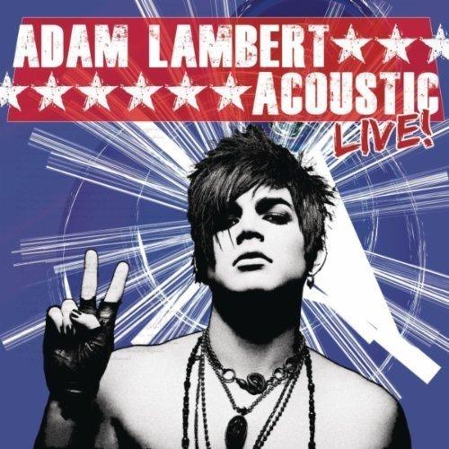 "Adam Lambert Acoustic Live! CD single (CD5 / 5"") US AKZC5AC541637"